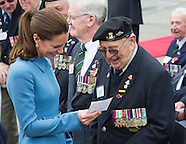 KATE & Prince William War Memorial Commemoration