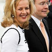 NLD/Makkum/20080430 - Koninginnedag 2008 Makkum, Mabel Wisse Smit en partner Johan Friso