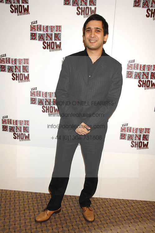 JIMI MISTRY at the South Bank Show Awards held at The Dorchester, Park Lane, London on 29th January 2008.<br />
