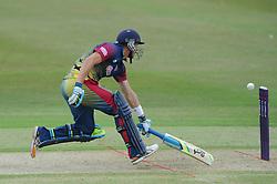 Joe Denly of Kent - Photo mandatory by-line: Dougie Allward/JMP - Mobile: 07966 386802 - 12/07/2015 - SPORT - Cricket - Cheltenham - Cheltenham College - Natwest Blast T20
