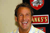 MERSON....PIC TIM EASTHOPE..6..... Pictured is soccer star Paul Merson signing for Walsall from Portsmouth