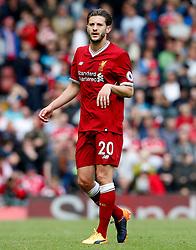 Adam Lallana of Liverpool - Mandatory by-line: Matt McNulty/JMP - 21/05/2017 - FOOTBALL - Anfield - Liverpool, England - Liverpool v Middlesbrough - Premier League