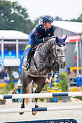 Lorenzo de Luca - Nabab's Diamant van Willebeke Z<br /> FEI World Breeding Jumping Championships for Young Horses 2016<br /> © DigiShots