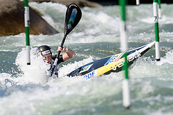 Marjorie DELASSUS of France during the Canoe Single (WK1) Womens Semi Final race of 2019 ICF Canoe Slalom World Cup 4, on June 28, 2019 in Tacen, Ljubljana, Slovenia. Photo by Sasa Pahic Szabo / Sportida