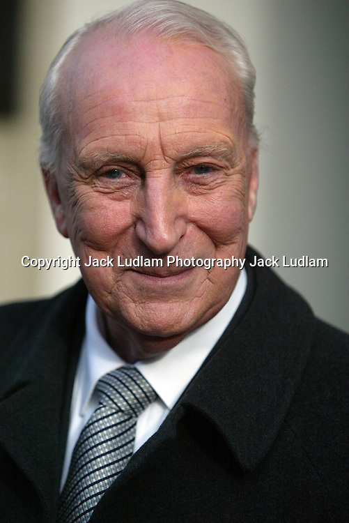SIR IAN RICHARDSON in London Feb 2006 house of cards