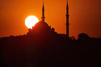Suleymaniye Mosque, Istanbul, Turkey