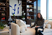 Charlotte Jones Anderson at the Dallas Cowboys Headquarters in Frisco, Texas on November 30, 2017.