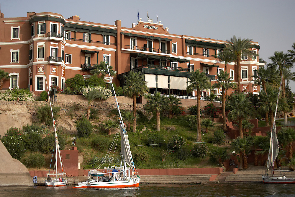 Old Cataract Hotel.Aswan, Egypt