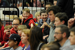 Bristol Flyers fan - Photo mandatory by-line: Dougie Allward/JMP - Mobile: 07966 386802 - 13/02/2015 - SPORT - Basketball - Bristol - SGS Wise Campus - Bristol Flyers v Surrey United - British Basketball League