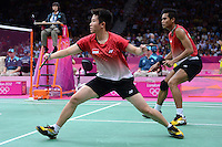 Ahmed and Nastir, Indonisia, Mixed Doubles,  Olympic Badminton London Wembley 2012