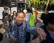 SEIU-UHW rally at the California State Capitol Tuesday June 2, 2015.