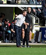 4th August 2018, Simple Digital Arena, Paisley, Scotland; Ladbrokes Premiership football, St Mirren versus Dundee; Dundee manager Neil McCann