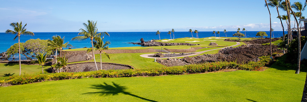 Muana Lani Golf Course 7th hole, Kohala, Big Island of Hawaii