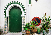 Tangier, the casbah.