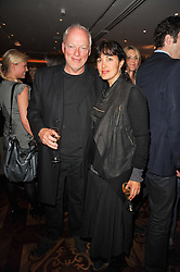 DAVID GILMOUR and POLLY SAMSON at a party following the premier of Boogie Woogie held at The Westbury Hotel, Conduit Street, London on 13th April 2010.