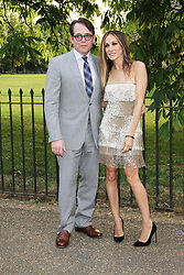 © London News Pictures. 26/06/2013. London, UK. Matthew Broderick and Sarah Jessica at  The Serpentine Gallery summer party, Kensington Gardens London UK, 26 June 2013, Photo credit: Richard Goldschmidt/LNP