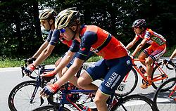 Jon Ander Insausti Irastorza (ESP) of Bahrain-Merida, Domen Novak (SLO) of Bahrain-Merida during Stage 2 of 24th Tour of Slovenia 2017 / Tour de Slovenie from Ljubljana to Ljubljana (169,9 km) cycling race on June 16, 2017 in Slovenia. Photo by Vid Ponikvar / Sportida