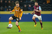 Sebastian Larsson of Hull City during the EFL Sky Bet Championship match between Hull City and Aston Villa at the KCOM Stadium, Kingston upon Hull, England on 31 March 2018. Picture by Craig Zadoroznyj.