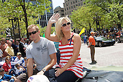 America's Next Top Model winner Whitney Thompson seen at the IPL 500 Festival Parade on May 25, 2008. Photo by Michael Hickey