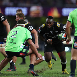 DURBAN, SOUTH AFRICA - MAY 05: Tendai Beast Mtawarira of the Cell C Sharks during the Super Rugby match between Cell C Sharks and Highlanders at Jonsson Kings Park Stadium on May 05, 2018 in Durban, South Africa. (Photo by Steve Haag/Gallo Images)