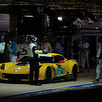 #63, Corvette Racing-GM, Chevrolet Corvette C7.R, driven by: Jan Magnussen, Antonio Garcia, Jordan Taylor, 24 Heures Du Mans, 15/06/2017,