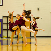 01-28-14 Berryville Halftime Dancers ( 2nd dance team )