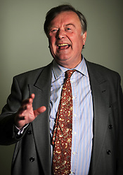 Portrait of Kenneth Clarke MP for Rushcliffe, London, Tuesday January 12, 201, January 12, 2010. Photo By Andrew Parsons / i-Images.
