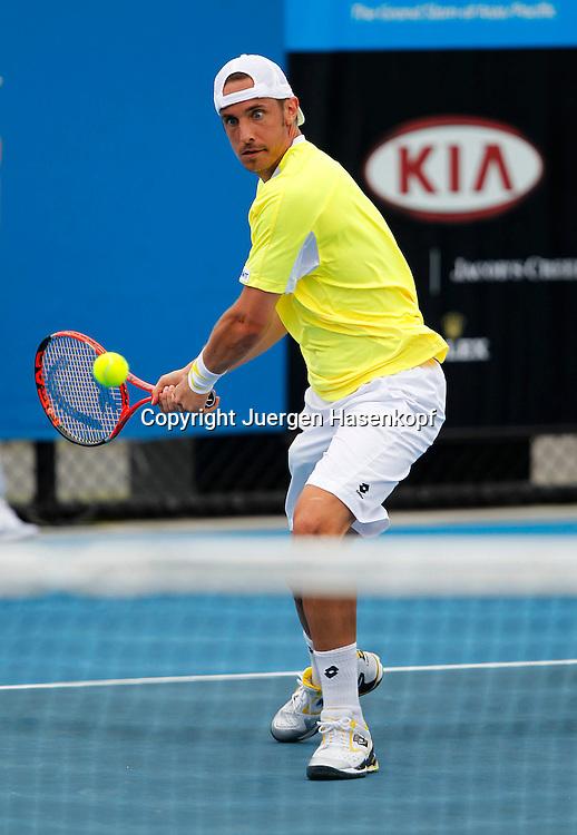 Australian Open 2011, Melbourne Park,ITF Grand Slam Tennis Tournament . Denis Gremelmayr  (GER)