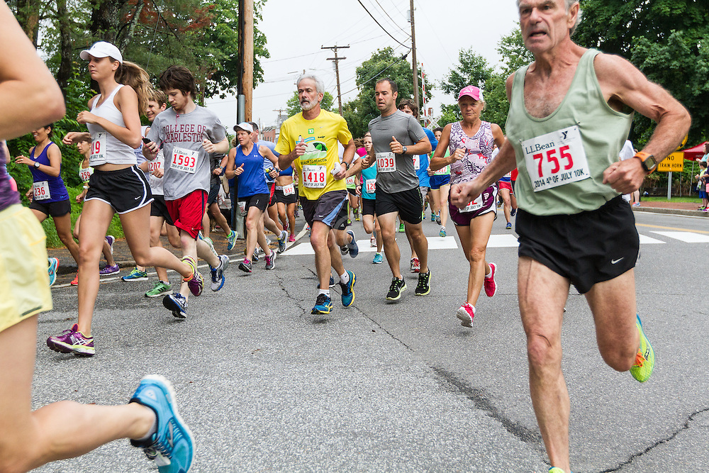 LL Bean Fourth of July 10K road race: