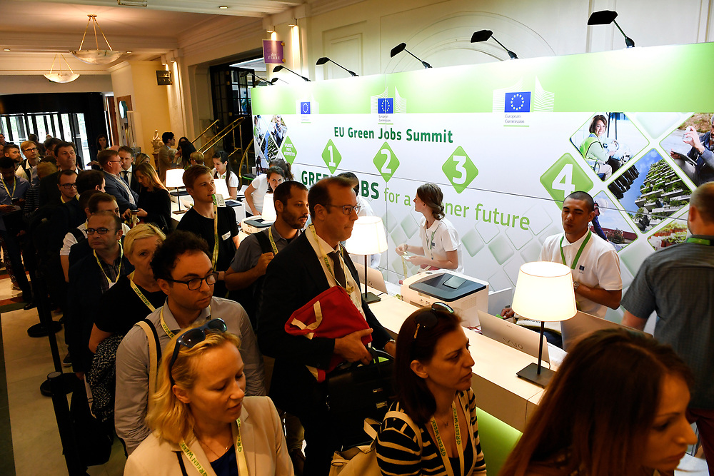 Brussels , Belgium , 30 May 2017 - Green Week 2017 - Green Jobs for a greener future - Green Jobs for Tomorrow, Today - <br /> &copy; EU - Patrick Mascart