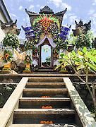 """Ubud, Bali 2015 - Ingresso di un """"kampung"""" che racchiude al suoi interno le abitazioni appartenenti ai membri di un nucleo familiare con relativo tempio."""