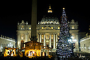Christmas tree in St Peter's Square