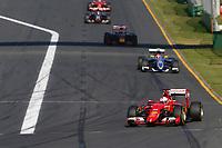 VETTEL sebastian (ger) ferrari sf15t action  during 2015 Formula 1 championship at Melbourne, Australia Grand Prix, from March 13th to 15th. Photo DPPI / Frederic Le Floch.