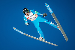 Nejc Dezman of Slovenia during the Ski Flying Hill Individual Qualification at Day 1 of FIS Ski Jumping World Cup Final 2018, on March 22, 2018 in Planica, Ratece, Slovenia. Photo by Ziga Zupan / Sportida