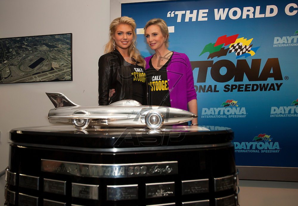 26 February, 2012:   during the Daytona 500 at the Daytona International Speedway in Daytona Beach, FL.