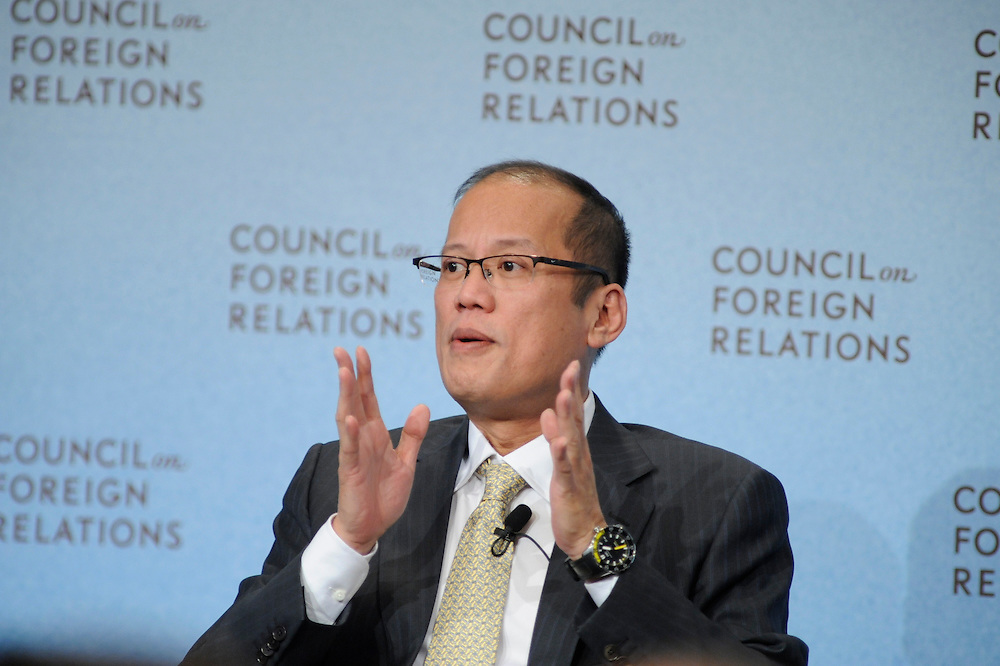 Benigno Aquino III.President Republic of the Phitippines..David Bradley.