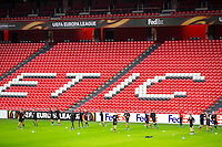 BILBAO - 09-12-15, Athletic Bilbao - AZ, Europa League, persconferentie, training, San Mames Stadion, overzicht