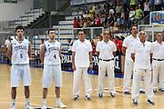 DESCRIZIONE : Roseto Degli Abruzzi Giochi del Mediterraneo 2009 Mediterranean Games Turchia Italia Turkey Italy Final Men<br /> GIOCATORE : Carlo Recalcati<br /> SQUADRA : Italia Italy<br /> EVENTO : Roseto Degli Abruzzi Giochi del Mediterraneo 2009<br /> GARA : Turchia Italia Turkey Italy <br /> DATA : 04/07/2009<br /> CATEGORIA : team coach<br /> SPORT : Pallacanestro<br /> AUTORE : Agenzia Ciamillo-Castoria/C.De Massis<br /> Galleria : Giochi del Mediterraneo 2009<br /> Fotonotizia : Roseto Degli Abruzzi Giochi del Mediterraneo 2009 Mediterranean Games Turchia Italia Turkey Italy Final Men <br /> Predefinita :