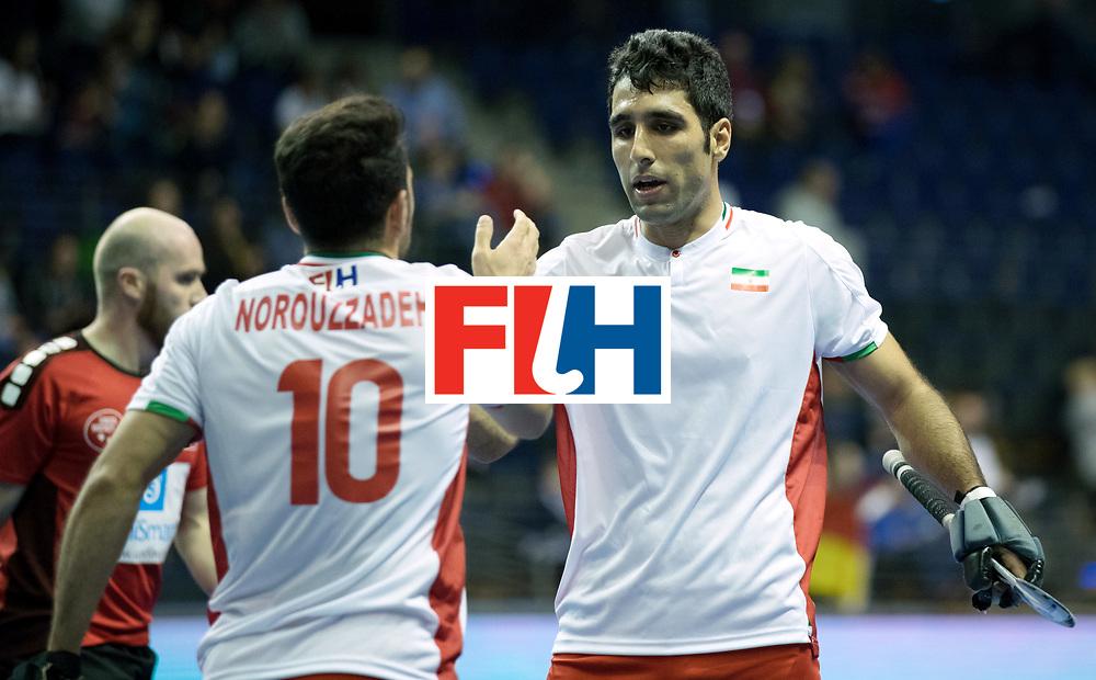 BERLIN - Indoor Hockey World Cup<br /> Men: Iran - Switzerland<br /> foto: <br /> COPYRIGHT WILLEM VERNES