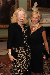 A party to promote the exclusive Puntacana Resort & Club - the Caribbean's Premier Golf & Beach Resort Destination, was held at Spencer House, London on 13th May 2010.<br /> <br /> Picture shows:- LADY WEIDENFELD and DIANA HARARI