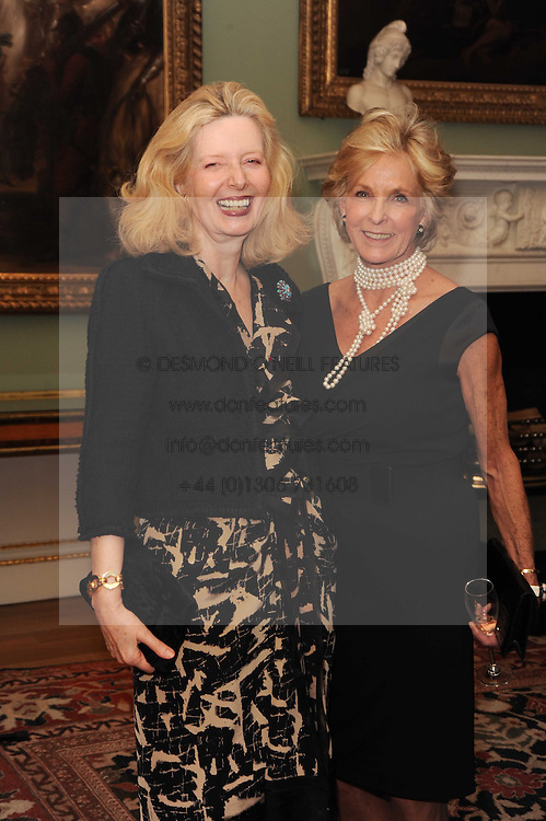 A party to promote the exclusive Puntacana Resort &amp; Club - the Caribbean's Premier Golf &amp; Beach Resort Destination, was held at Spencer House, London on 13th May 2010.<br /> <br /> Picture shows:- LADY WEIDENFELD and DIANA HARARI