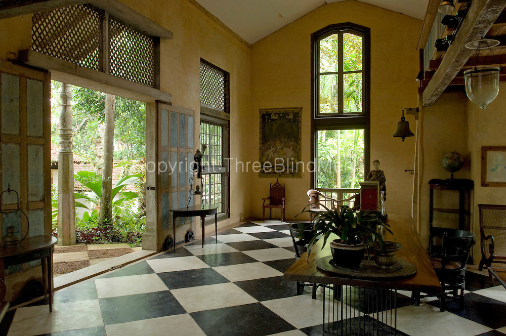 Interior of the Sandela Pavilion.<br />