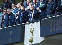 Football - 2019 / 2020 Premier League - Tottenham Hotspur vs. Watford<br /> <br /> Tottenham Chairman Daniel Levy stands emotionless and fails to applaud his team from the pitch as his team leave the field at the final whistle at The Tottenham Hotspur Stadium.<br /> <br /> COLORSPORT/DANIEL BEARHAM