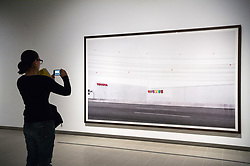 © Licensed to London News Pictures. 24/01/2018. London, UK. PhotograpH titled Toys 'R' Us, 1999 by artist ANDREAS GURSKY is on display as part the first major UK retrospective of the German photographer. The showcase also marks the Haywood galleries 50th anniversary following its two year refurbishment. Photo credit: Ray Tang/LNP