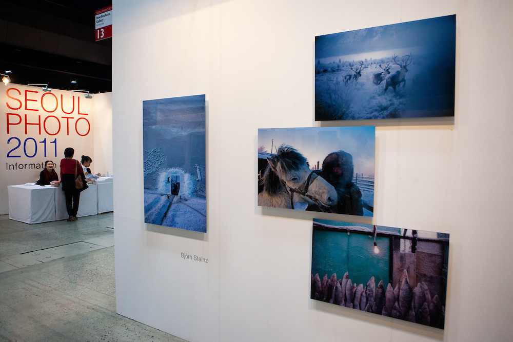Images from Yakutia exhibited at the Seoul Photo Fair 2011.
