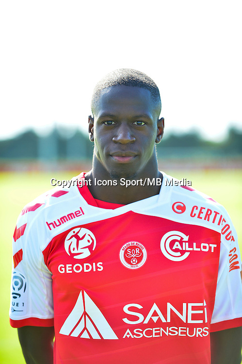 Omenuke MFULU - 28.09.2015 - Photo officielle Reims - Ligue 1<br /> Photo : Dave Winter / Icon Sport