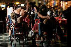 Male strippers perform, Friday, July 14, 2006 in New York.