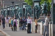 Vigeland Sculpture Park, Oslo, Norway.