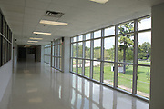 Kashmere High School renovations included adding windows throughout.