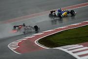October 23-25, 2015: United States GP 2015: Max Verstappen, Scuderia Toro Rosso , Felipe Nasr (BRA), Sauber